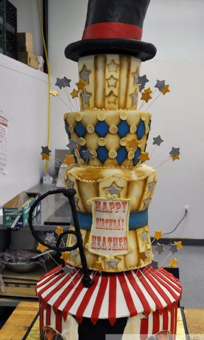 Prime Circus Themed Birthday Cake A Little Cake Funny Birthday Cards Online Elaedamsfinfo