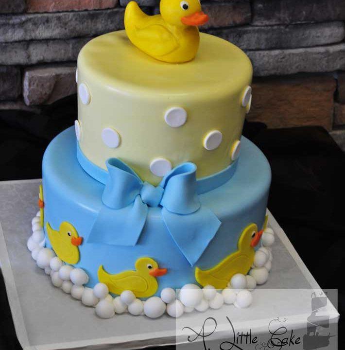 8f2615831971 Baby Shower Duck Cake