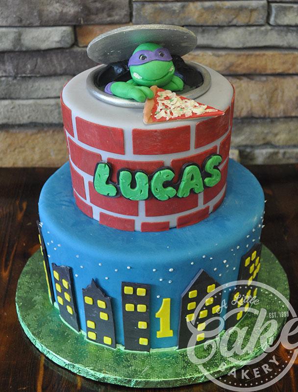 Fine Ninja Turtles Birthday Cake Funny Birthday Cards Online Aboleapandamsfinfo