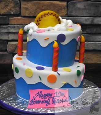 Incredible Baseball Themed Tiered Cake Funny Birthday Cards Online Necthendildamsfinfo