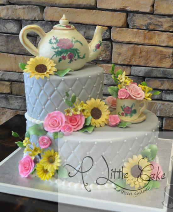 A Little Cake Wedding Cakes Custom Cakes Birthday Cakes In Nj