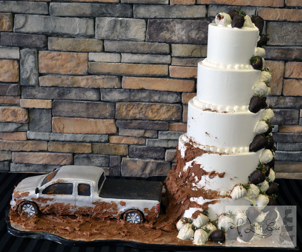 Awe Inspiring C112 Truck Mudding Cake Funny Birthday Cards Online Aboleapandamsfinfo