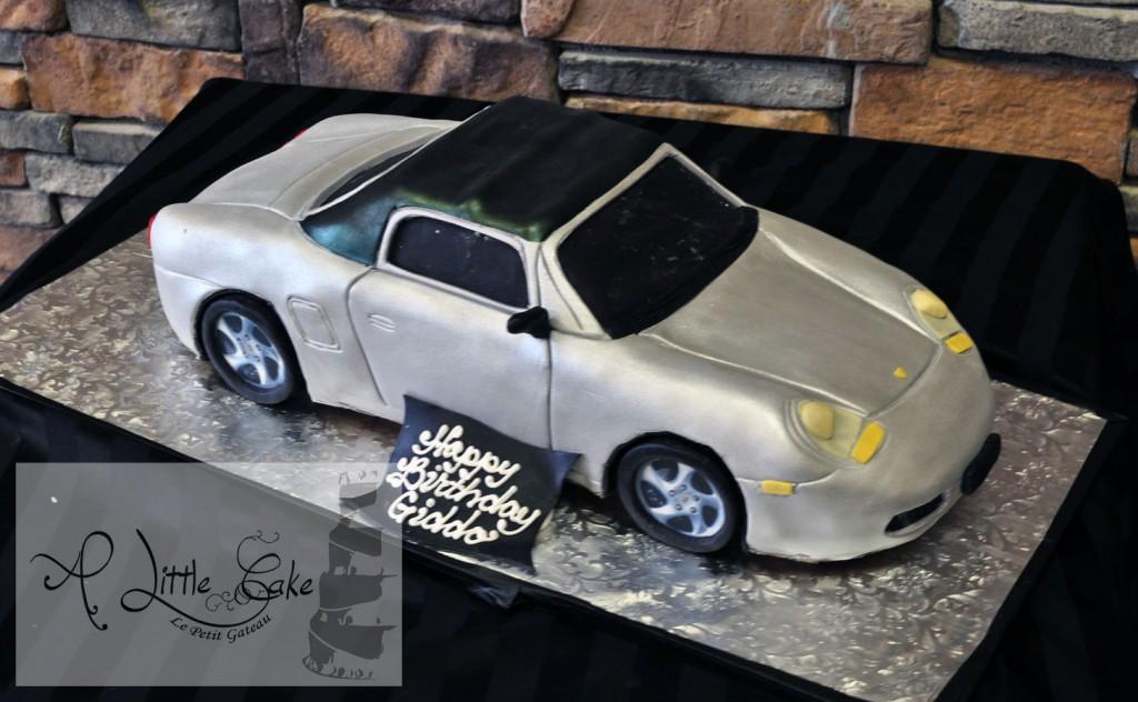 Sculpted Porsche Car Cake A Little Cake Custom Cakes Best