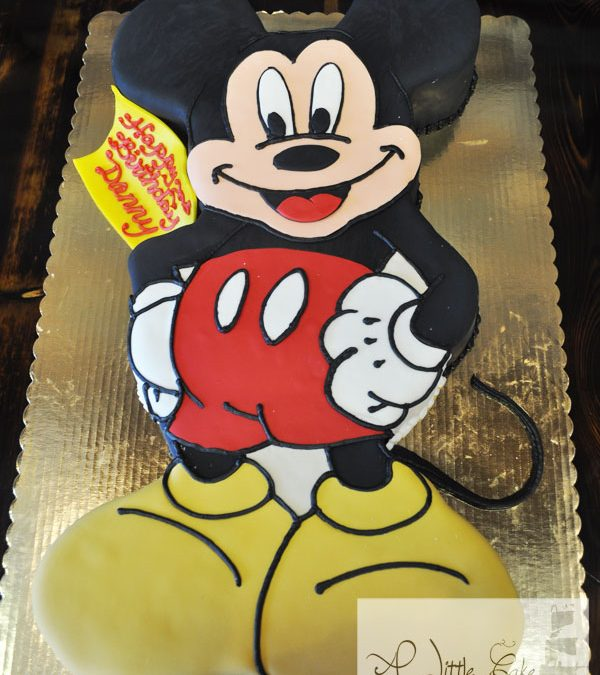 Admirable C25 Mickey Mouse Sculpted Cake Personalised Birthday Cards Paralily Jamesorg