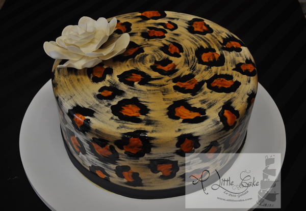 Cool C252 Cheetah Cake Funny Birthday Cards Online Benoljebrpdamsfinfo