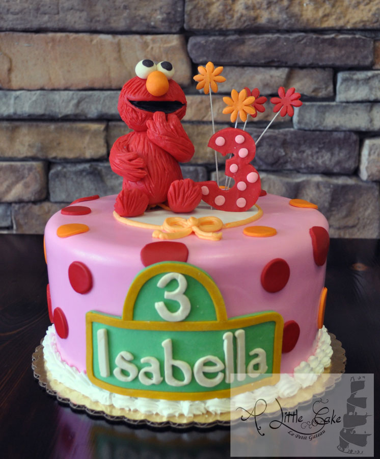 Elmo Birthday Cake Elmo Cake A Little Cake