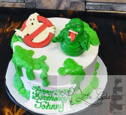 Enjoyable Ghostbusters Birthday Cake Funny Birthday Cards Online Alyptdamsfinfo