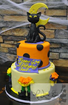 Incredible Halloween Themed Cake Funny Birthday Cards Online Aboleapandamsfinfo