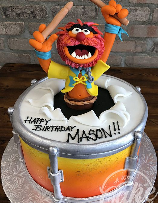 Cool Muppets Theme Animal Cake Funny Birthday Cards Online Alyptdamsfinfo