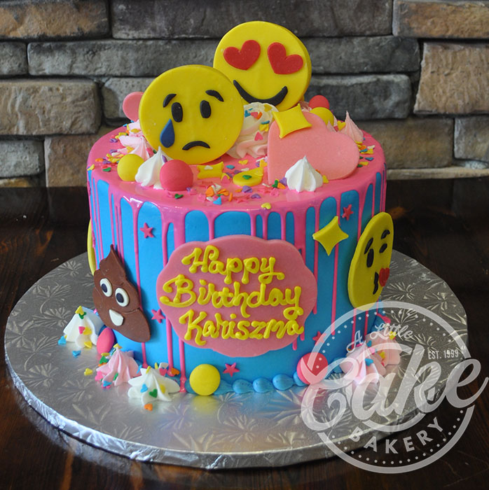 Emoji Themed Cake
