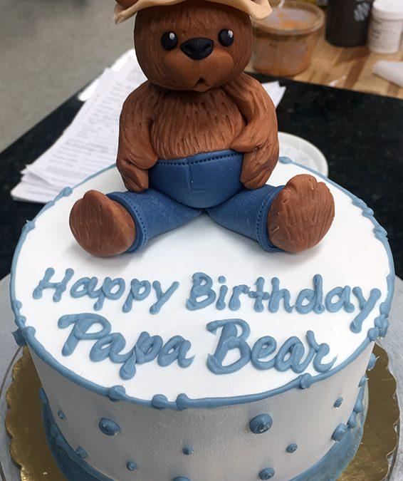 Papa Bear Birthday Cake