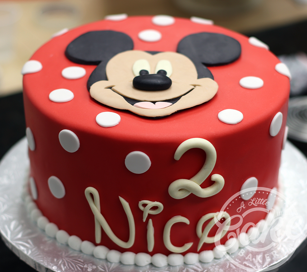 Fantastic Mickey Mouse Birthday Cake Funny Birthday Cards Online Fluifree Goldxyz